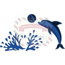 Fustella metallica Marianne Design Creatables Dolphin