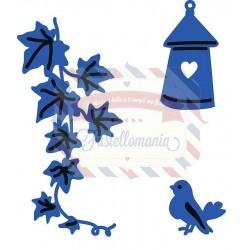 Fustella metallica Marianne Design Creatables Ivy