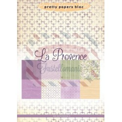 Carta da scrapbooking Marianne Design pretty papers bloc La Provence