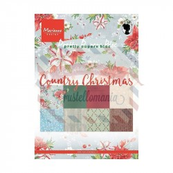 Carta da scrapbooking Marianne Design Bloc Country Christmas