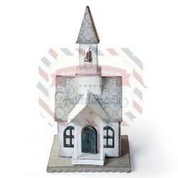 Fustella Sizzix Bigz Tim Holtz Village Tower