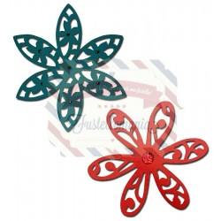 Fustella Sizzix Thinlits Intricate Delightful