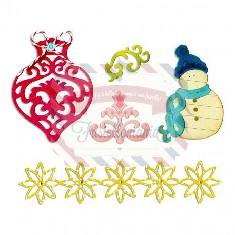 Fustella Sizzix Thinlits Christmas 2