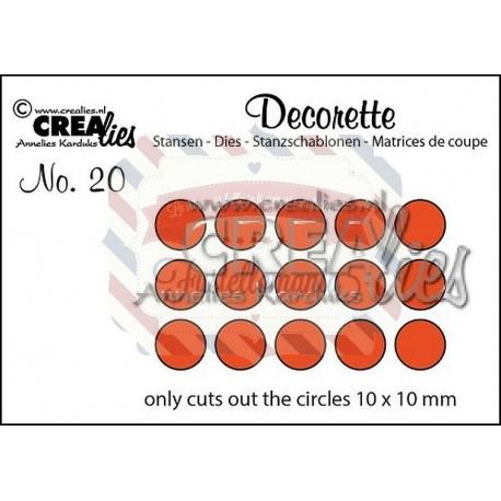 Fustella metallica Crealies Decorette nr 20