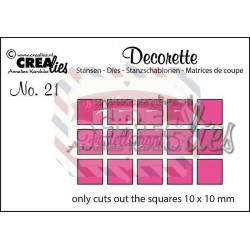 Fustella metallica Crealies Decorette nr 21