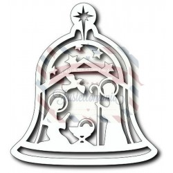 Fustella metallica Tutti Designs Nativity Bell