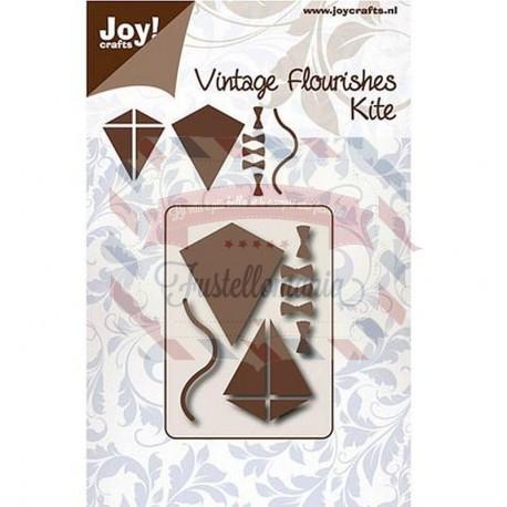 Fustella metallica Joy! Crafts Vintage Flourishes Kite