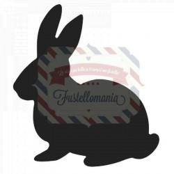 Fustella Sizzix Thinlits Cute Bunny