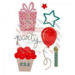 Fustella Sizzix Thinlits Party Set