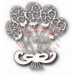 Fustella metallica Tutti Designs Balloon Bouquet