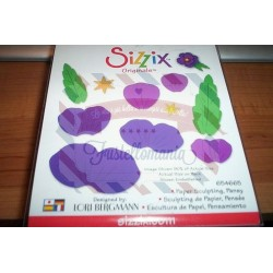 Fustella Sizzix Originals Paper Sculpting Pansy