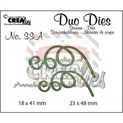 Fustella metallica Crealies Duo Dies 33 A Leaves 3