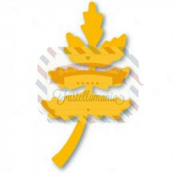 Fustella Sizzix Originals Yellow Fern