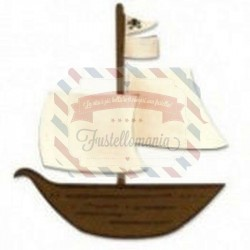 Fustella Sizzix Originals Nave Pirata