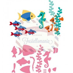 Fustella metallica Marianne Design Collectables Eline's Tropical Fish