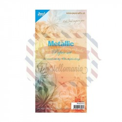 Carta da scrapbooking Joycrafts Metallic 15x30 250 gr.