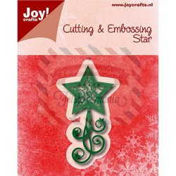 Fustella metallica Joy! Crafts Cutting & Embossing Stars