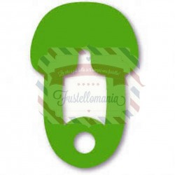 Fustella Sizzix Originals Green Safety Pin