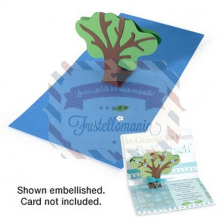 Fustella Sizzix BIGz XL Tree 3-D Pop-Up