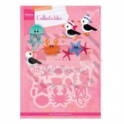 Fustella metallica Marianne Design Collectables Eline's Seagull & Friends