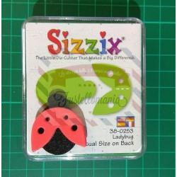 Fustella Sizzix Originals Green Coccinella