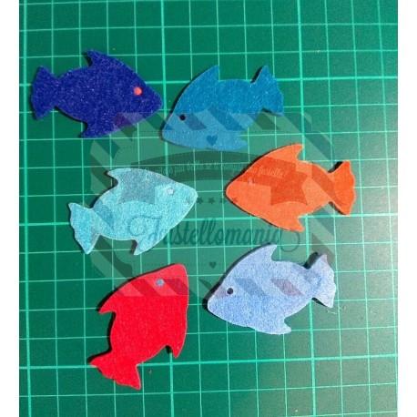 Fustella Sizzix Originals Green Fish