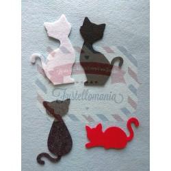 Fustella L 3 Gatti Dispettosi
