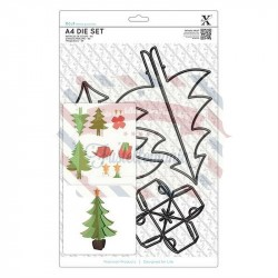 Fustella metallica Xcut A4 Build a Christmas Tree