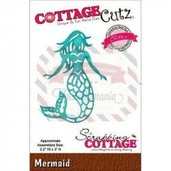 Fustella metallica Cottage Cutz Mermaid