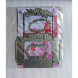 Fustella metallica Scatolina porta confetti