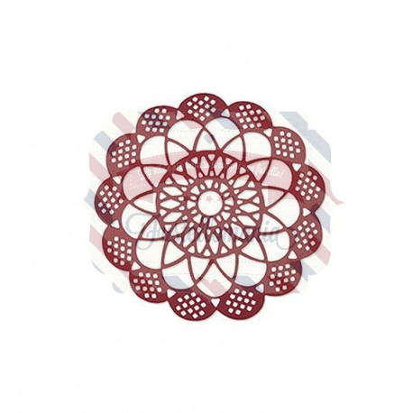Fustella Sizzix Thinlits Antique Doily