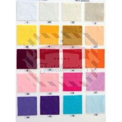 Pannolenci 1mm - 1 foglio 30x40 cm colore a scelta