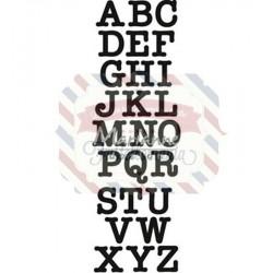 Fustella metallica Marianne Design Craftables Punch die Letters