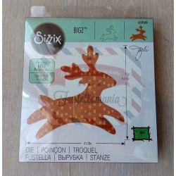 Fustella Sizzix Bigz Reindeer 3
