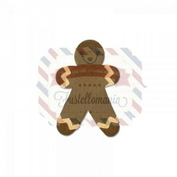 Fustella Sizzix Originals Gingerbread Man 4