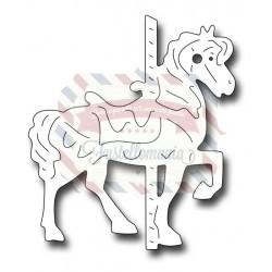 Fustella metallica Small carousel Horse