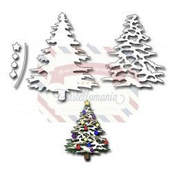 Fustella metallica Christmas Tree