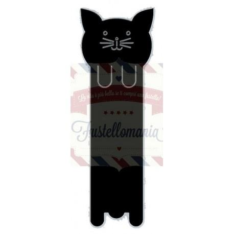 Fustella metallica Cat Bookmark