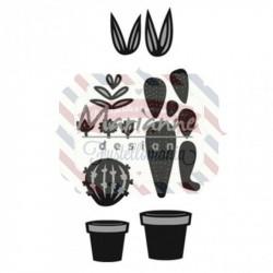 Fustella metallica Marianne Design Craftables Cactus