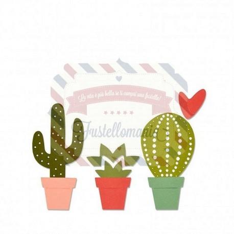 Fustella Sizzix Thinlits Cactus