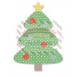 Fustella Sizzix Bigz Albero di Natale con addobbi