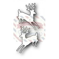 Fustella metallica PoppyStamps Prancing Deer