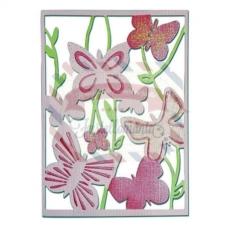 Fustella Sizzix Thinlits Spring Garden by Craft Asylum