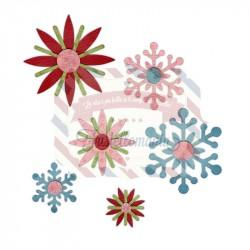 Fustella Sizzix Sizzlits Winter Elements