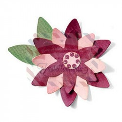 Fustella Sizzix Bigz Flower Layers 6