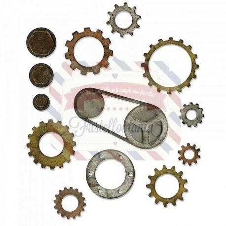 Fustella Sizzix BIGz L Gadget Gears 3 by Tim Holtz