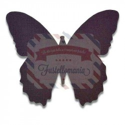 Fustella Sizzix Bigz Hedgerow Butterfly by Samantha Barnett