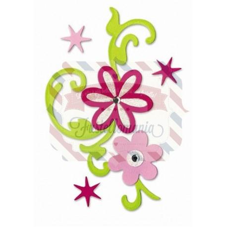 Fustella Sizzix Bigz Flower Bouquet
