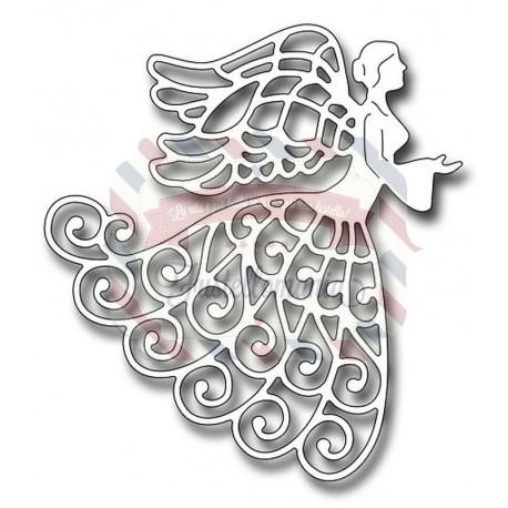 Fustella metallica Lace Angel