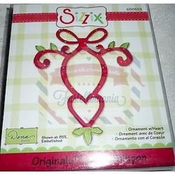 Fustella Sizzix Bigz Ornamento con cuore